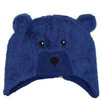 Color Kids Hat - Kippo - Fleece - Navy Bear