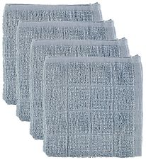 Pippi Washcloths - 4-Pack - Light Blue