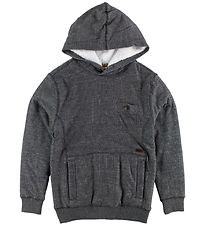 Billabong Hoodie w. Terry - Teddy - Black Heather