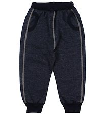 Katvig Sweatpants - Baggy - Navy Melange