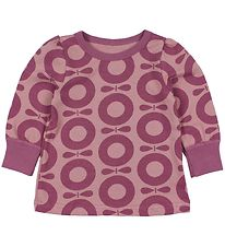 Katvig Classic Blouse - Rose w. Purple Apples