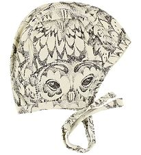 Soft Gallery Baby Hat - Hattie - Ivory w. Owls