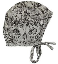 Soft Gallery Baby Hat - Hattie - Grey w. Owls