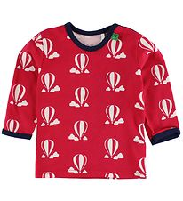 Freds World Blouse - Red w. Air Balloons