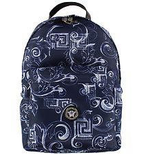 Young Versace Backpack - Navy w. Print