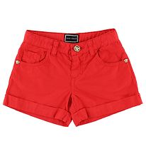 Young Versace Shorts - Red