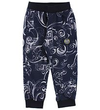 Young Versace Sweatpants - Navy w. Print