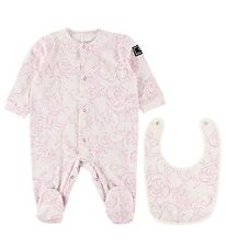 Young Versace Gift Box - Jumpsuit/Bib - Lavender w. Print