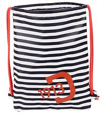 Didriksons Gymsack - PU - Navy/White/Red
