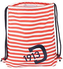 Didriksons Gymsack - PU - Red/White/Navy