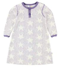 Joha Nightdress - Ivory/Purple w. Stars