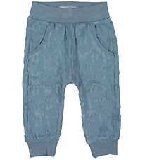 Small Rags Trousers - Blue w. Terry Cloth