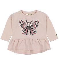 Small Rags Blouse - Rose w. Mr. Rags