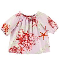 Young Versace Blouse - 3/4 - Rose w. Print