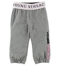 Young Versace Sweatpants - Grey Melange