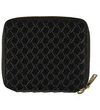 Lala Berlin Wallet - Leather - Black Pattern
