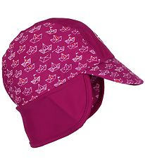Color Kids Sun Hat - Nadam - Fuchsia w. Ships