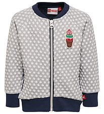 Lego Duplo Zip Cardigan - Summer - Navy/White