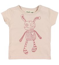 Small Rags T-shirt - Grace - Rose w. Mr. Rags