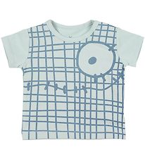 Small Rags T-shirt - Gavi - Blue w. Print