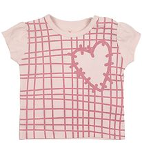 Small Rags T-shirt - Gavi - Rose w. Print