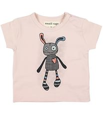 Small Rags T-shirt - Gavi - Rose w. Mr. Rags