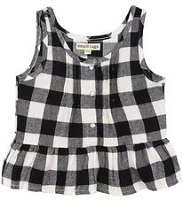 Small Rags Top - Gerda - Grey Check