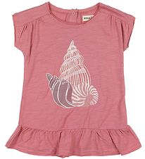Small Rags Dress - Grace - Dusty Rose w. Glitter