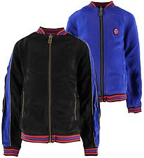Zadig & Voltaire Track Jacket - Reversible - Black/Blue/Red
