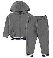 Young Versace Tracksuit - Grey Melange