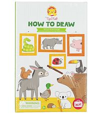 Tiger Tribe How To Draw - Wild Kingdom