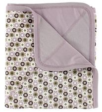 Katvig Blanket - 97x97 - Dusty Purple w. Apples