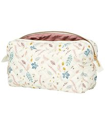Cam Cam Toiletry Bag - Quilted - Pressed Leaves Rose