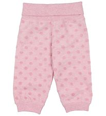 Pippi Trousers - Rose w. Dots