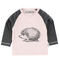 BombiBitt Blouse - Rose w. Hedgehog