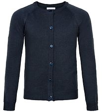 The New Cardigan - Knitted - Aya - Navy Glitter