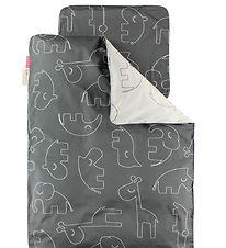 Done By Deer Duvet Cover - Junior - Sleepy - Grey