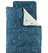 Done By Deer Duvet Cover - Junior - Sleepy - Blue