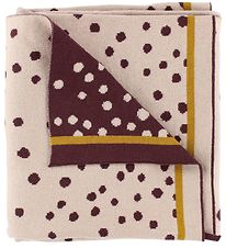 Done By Deer Blanket - 102x80 - Happy Dots - Powder
