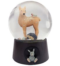 Kids by Friis Snow Globe - D:11 cm - Forest Animal