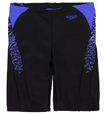 Speedo Swim Jammers - Boom Splice - Black/Blue