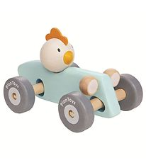 PlanToys Racing Car - Wood - Chicken