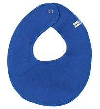 Pippi Teething Bib - Round - Blue