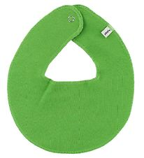Pippi Teething Bib - Round - Grass Green
