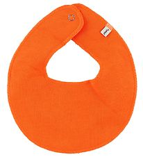 Pippi Teething Bib - Round - Orange