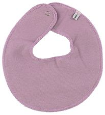 Pippi Teething Bib - Round - Light Purple