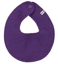Pippi Teething Bib - Round - Purple