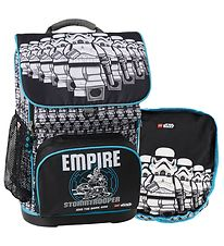 Lego School Backpack w. Gym Bag - Optimo - Star Wars - Stormtroo