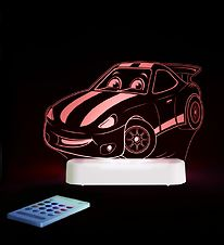 Aloka Night Lamp - Sleepy Lights - 15x12 - Racing Car