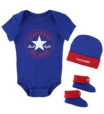 Converse Gift Box - Bodysuit/Beanie/Slippers - Dark Blue